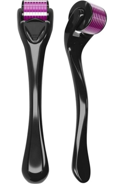 Ironx Derma Roller System 0.5 Mm. Saç Çıkarma Tarağı - Titanyum Iğneli Derma Roller Cilt Yenileme