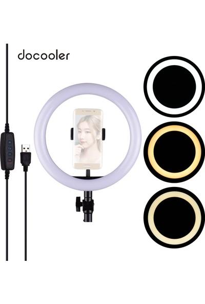 """Docooler 26 cm / 10"""" LED Halka Işık Fotoğrafçılık (Yurt Dışından)"""
