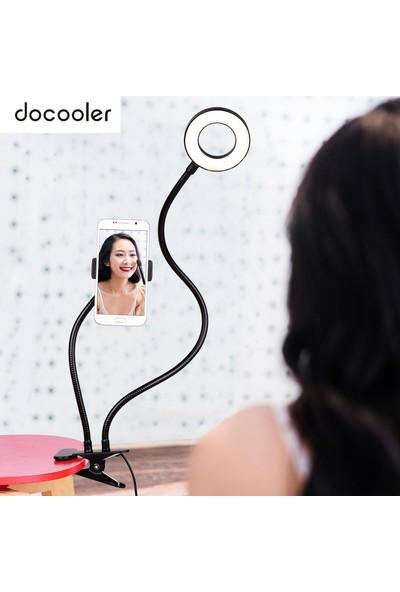 Docooler 2-In-1 Cep Telefonu Tutucu ile LED Halka Işık (Yurt Dışından)