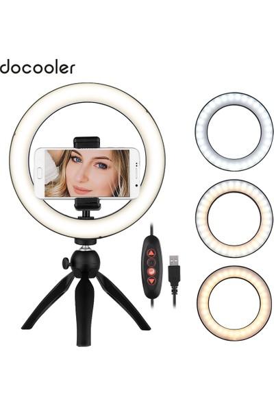"""Docooler Taşınabilir 8.6"""" LED Halka Işık Lambası (Yurt Dışından)"""