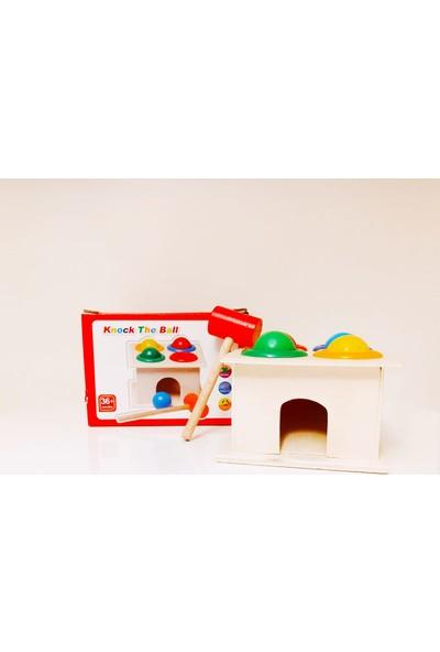 Myd Oyuncak Wood Toys Myd Oyuncak Ahşap Ksilofon 8 Nota 8 Ton Hayvan Resimli ve Ahşap Eğitici 4 'lü Tak Çak Oyunu