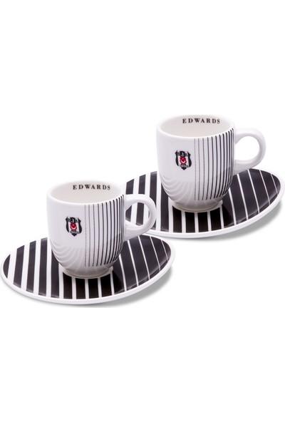 Jumbo Beşiktaş Edwards 2 Kişilik Kahve Fincanı