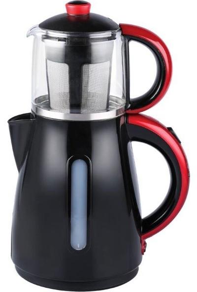 Karaca Enerji Tasarruflu Kettle Çay Makinesi 1501 Redgold