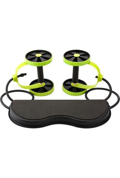 Revoflex Xtreme Egzersiz Aleti, Tekerlekli Egzersiz Aleti Yeşil