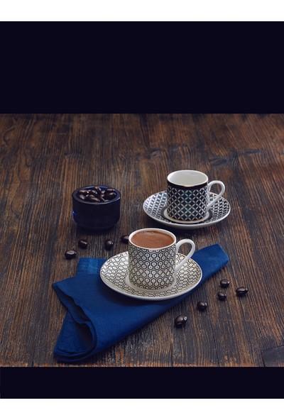 Emsan Cihangir 6 Kişilik Kahve Fincan Takımı