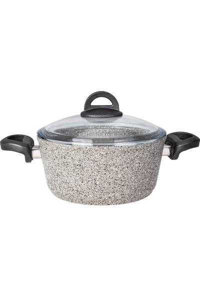 Karaca Dark Silver Bio Granit 20 cm Tencere
