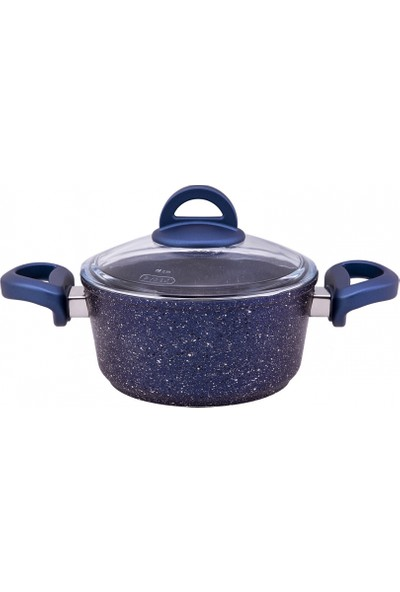 Emsan Premium Granit 7 Parça Tencere Seti Blue Pearl
