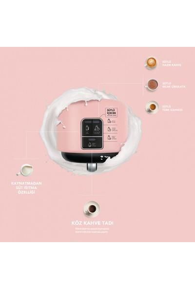 Karaca Hatır Mod Sütlü Türk Kahve Makinesi Pearly Pink