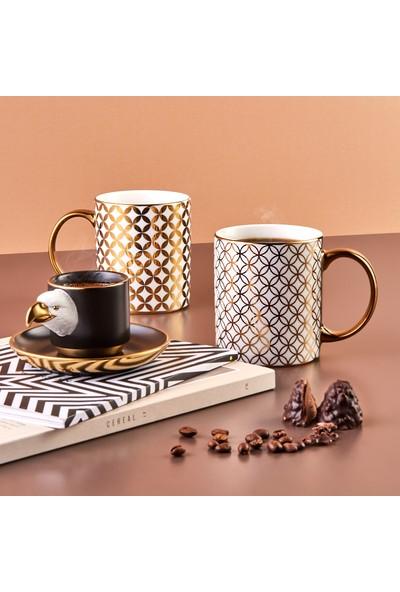 Karaca Eagle 2 Kişilik Kahve Fincanı