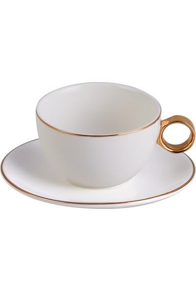 Karaca Ring 2 Kişilik Çay Fincan Seti