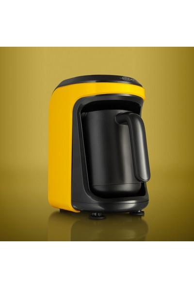 Karaca Hatır Hüp Türk Kahve Makinesi Sarı