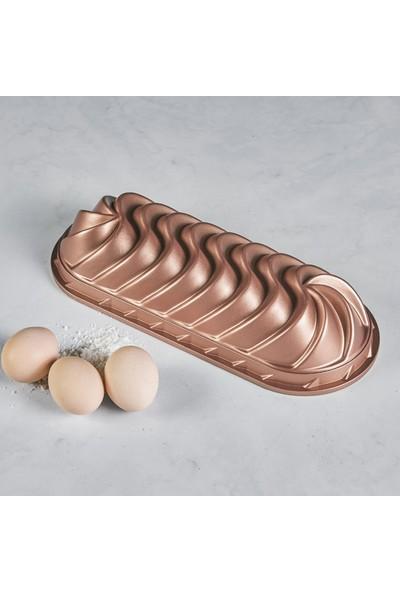Emsan Lavin Golden Pink Large Baton Döküm Kek Kalıbı