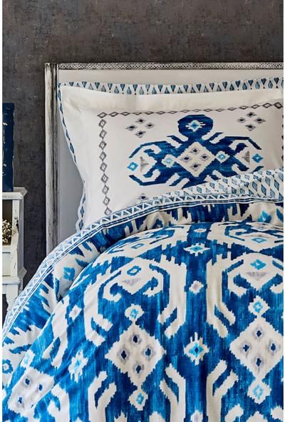 Karaca Home Neos Mavi Rnf Çift Kişilik Pike Takımı