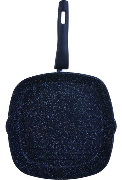 Karaca Dark Stone Bio Granit 28 cm Grill Tava