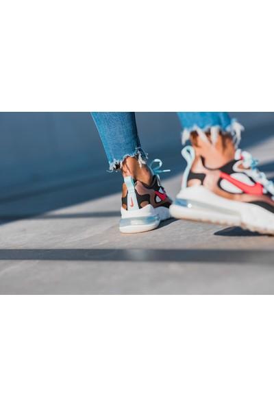 Nike Air Max 270 React CT3428-100 Unisex Spor Ayak