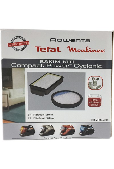 Rowenta Ro 3786 Compact Power Cyclonic Hepa Filtre Seti