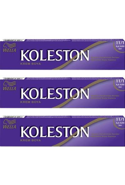 Koleston Tüp Boya 50 ml - 11.1 Açık Küllü Sarı 3 Adet