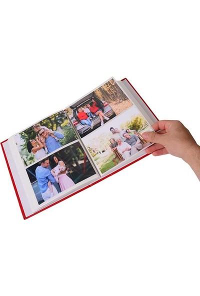 Nobbystar 200'LÜK Deri 10x15cm Pencereli Siyah Fotoğraf Albümü