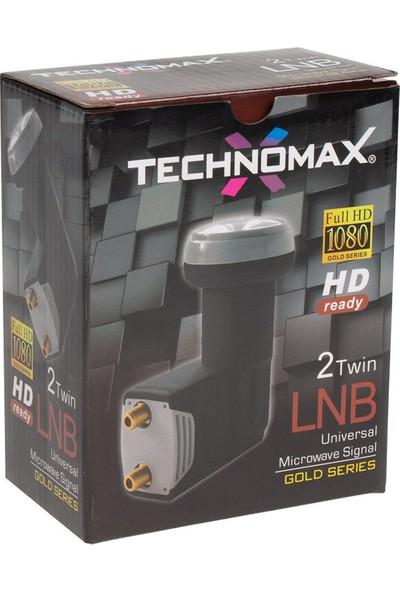 Technomax TM4022G Çiftli Lnb Twin Gold Serisi