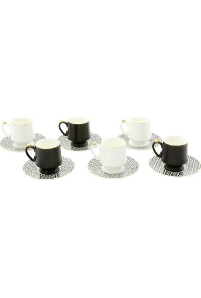 Pierre Cardin Lenora 6'lı Kahve Fincanı