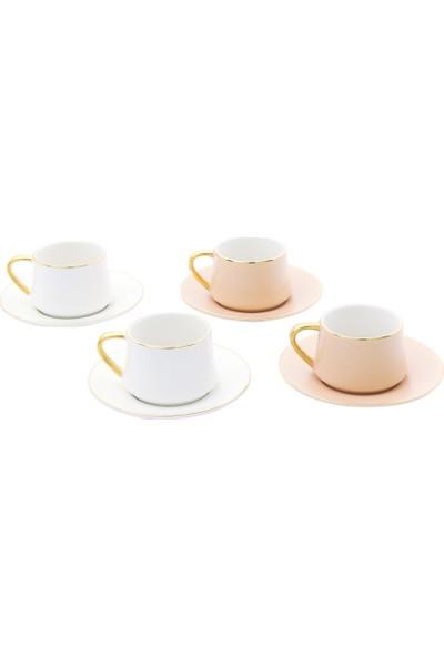 Pierre Cardin Juno Soft 4'lü Kahve Fincanı