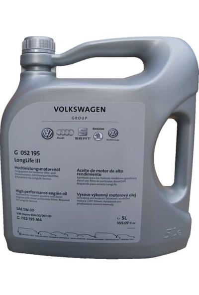 Volkswagen5W-30 Long Life Motor Yağı 5 lt (Seat, Skoda, Audi ) (Üretim yılı:2019)