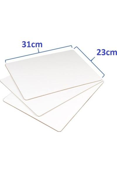 Livart Diz Üstü Beyaz Yazı Tahtası 23 x 31 cm