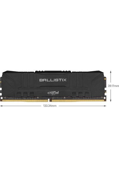 Crucial Ballistix 8GB DDR4 3200MHz PC CL16 UDIMM Ram BL8G32C16U4B