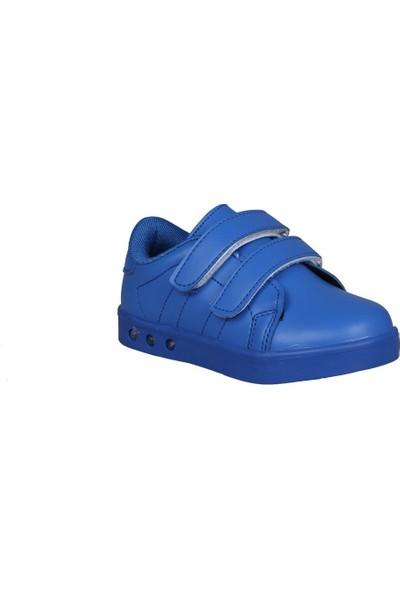 Cool 19-K23 Saks Mavi Çocuk Sneakers
