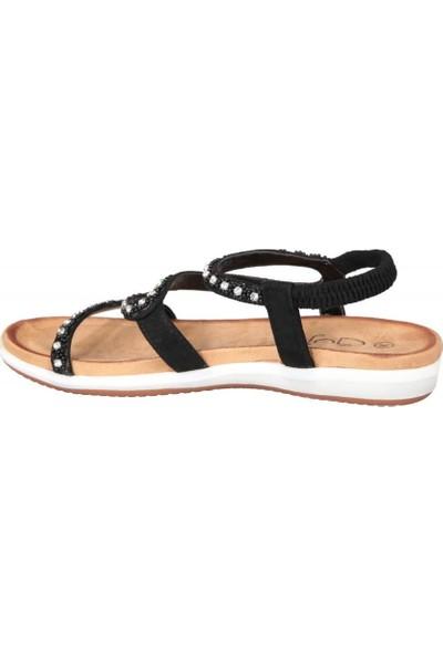 Guja 19Y153 Siyah Kadın Sandalet