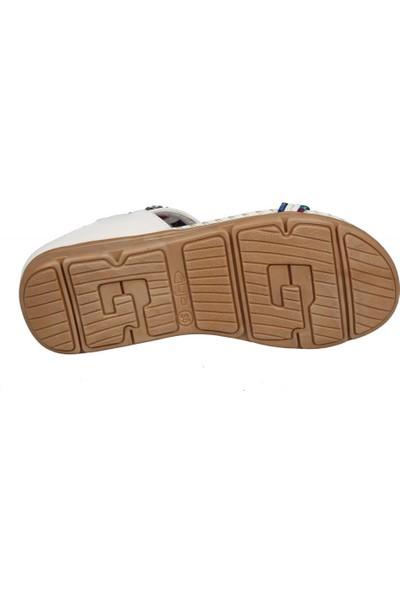 Guja 20Y150-10 Beyaz Kadın Sandalet