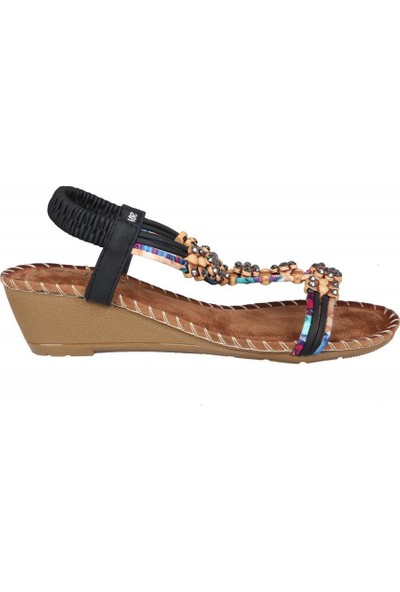 Guja 20Y151-1 Siyah Kadın Sandalet