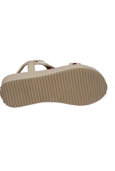 Guja 20Y237 Bej Kadın Sandalet