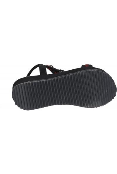 Guja 20Y237 Siyah Kadın Sandalet
