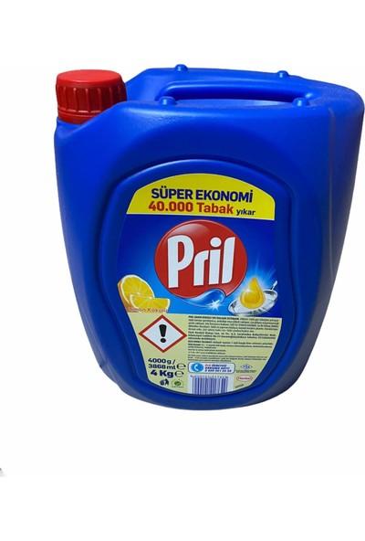 Pril Sıvı Bulaşık Deterjanı Limon 4 kg