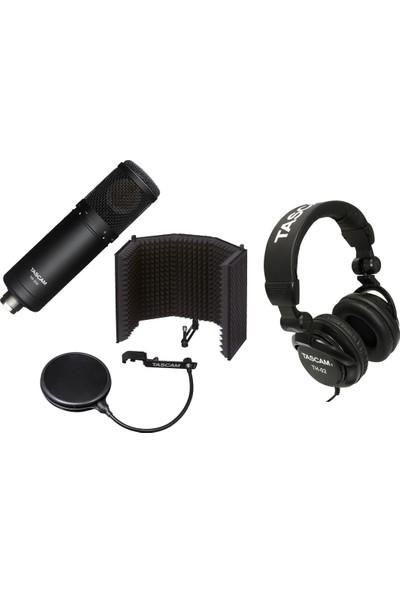 Tascam Tm-Ar1 Akustik Kontrol Paneli ve TM-280 Stüdyo Kayıt Mikrofon Seti