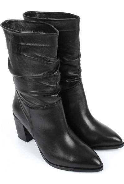 Gön Deri Kadın Çizme 44579