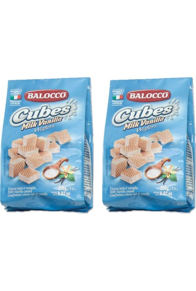 Balocco Gofret Latte 250 gr x 2