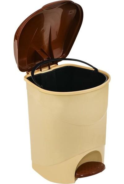 Plastart Pedallı Çöp Kovası   Ofis Çöp Kovası
