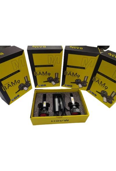 Mach Bam9 10800 Lümen H4 LED Xenon Far Slim Balans Şimşek Etkili