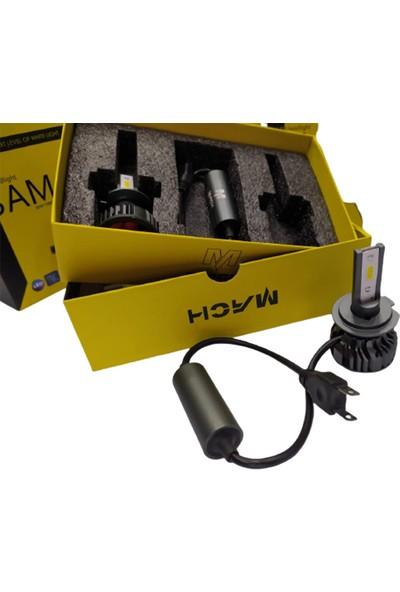 Mach Bam9 10800 Lümen 9005 LED Xenon Far Slim Balans Şimşek Etkili