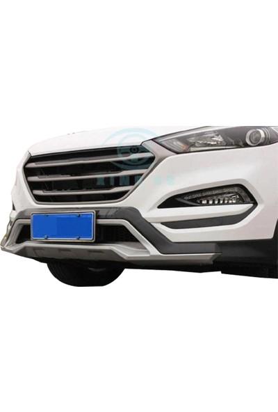 Blue Hyundai Tucson Ön Arka Koruma Difüzör 2015 - 2017