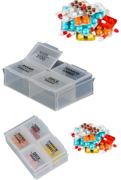 Plastart Günlük Ilaç Kutusu | Hap Kutusu