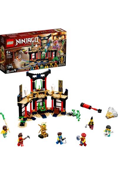 LEGO® NINJAGO® Legacy Elementler Turnuvası 71735 - Çocuklar için Ninja Oyuncak Yapım Seti (283 Parça)