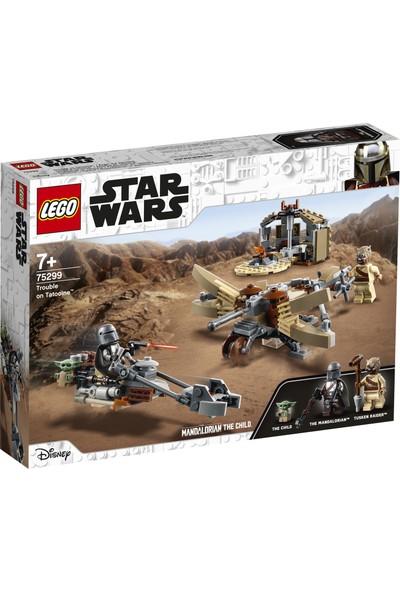 LEGO® Star Wars: The Mandalorian Tatooine'de Bela 75299 - Çocuklar için Yıldız Savaşları The Child içeren Oyuncak Yapım Seti (277 Parça)