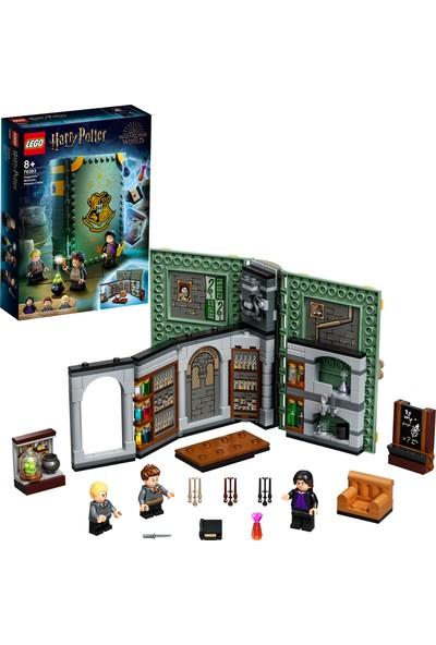 LEGO® Harry Potter™ Hogwarts™ Anısı: İksir Dersi 76383 - Profesör Snape'in Dersi Koleksiyonluk Oyuncak Yapım Seti (270 Parça)