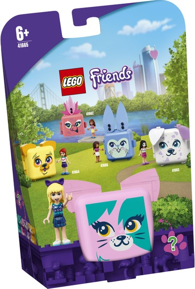 LEGO® Friends Stephanie'nin Kedi Küpü 41665 - Hayvan Oyuncaklarını Seven Çocuklar için Yapım Seti (46 Parça)