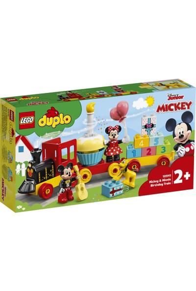 LEGO® DUPLO® ǀ Disney Mickey ve Minnie Doğum Günü Treni 10941 - Küçük Çocuk için Rakamlı Eğitici ve Öğretici Oyuncak Yapım Seti (22 Parça)
