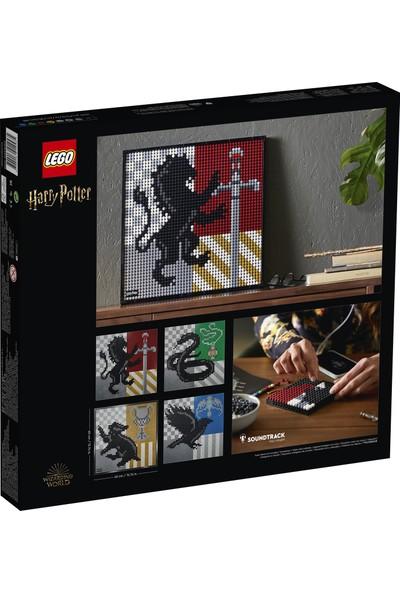 LEGO® Art Harry Potter™ Hogwarts™ Armaları Yapım Seti 31201 - Yetişkinler için Hobi Koleksiyon Amaçlı Arma Yapım Seti (4249 Parça)