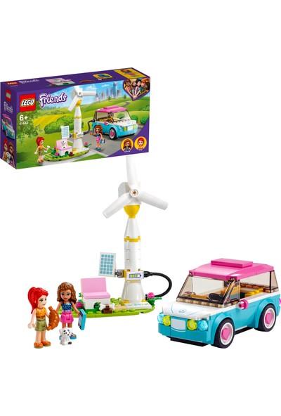 LEGO® Friends Olivia'nın Elektrikli Arabası 41443 -Çocuklar için Sürdürülebilirlik Temalı Oyuncak Yapım Seti (183 Parça)